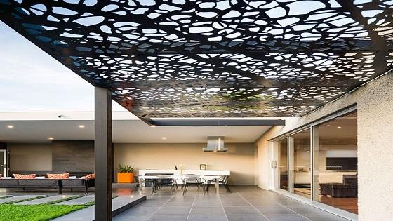 Gambar Lampu Kanopi  desain kanopi cafe contoh contoh arsitek